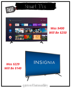 BLACK FIRDAY TV DEALS