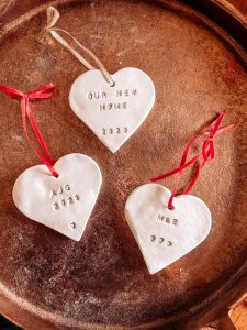 Personalised Clay Ornaments
